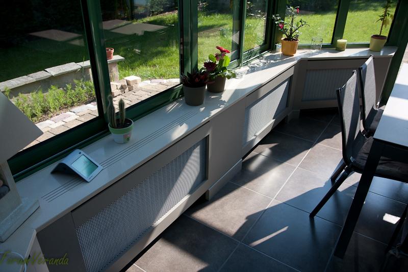 int gration des radiateurs dans la v randa ventilation chauffage climatisation page 2. Black Bedroom Furniture Sets. Home Design Ideas